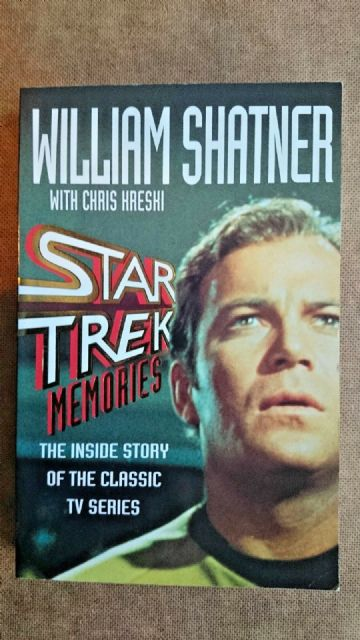 Star Trek  Memories by Chris Kreski, William Shatner (Paperback, 1993)